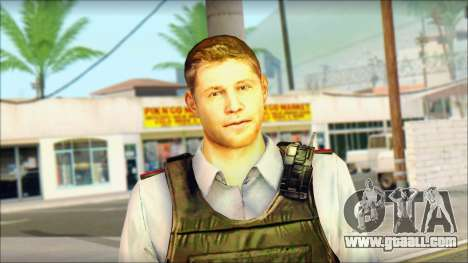 A police officer from TC SC: Conviction for GTA San Andreas third screenshot