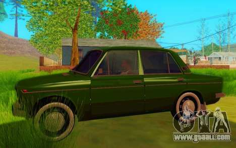 LADA 1500S 1973 for GTA San Andreas back left view