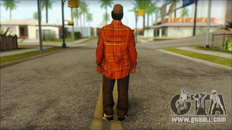 Eazy-E Red Skin v2 for GTA San Andreas second screenshot