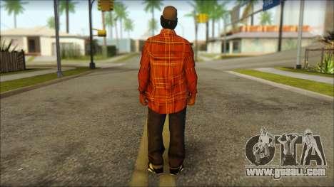 Eazy-E Red Skin v2 for GTA San Andreas second screenshot