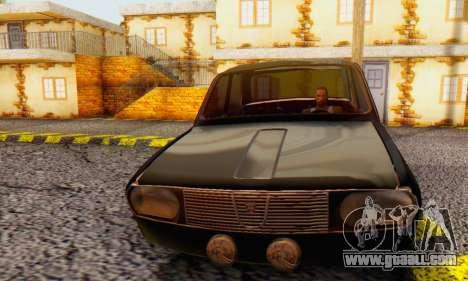 Dacia 1300 WRC Black Edition for GTA San Andreas