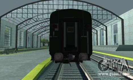 Garib Rath Express for GTA San Andreas inner view