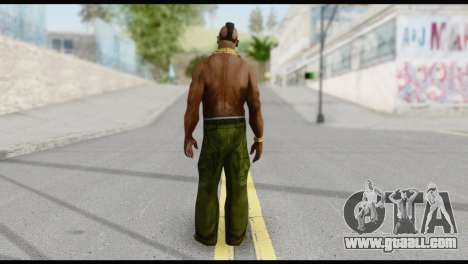MR T Skin v3 for GTA San Andreas second screenshot