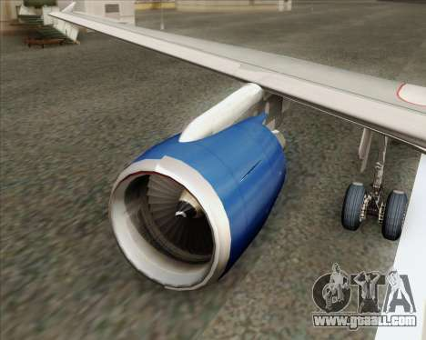 Airbus A320-232 British Airways for GTA San Andreas engine
