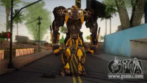 Bumblebee v2 for GTA San Andreas second screenshot