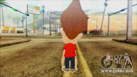 Jimmy Neutron for GTA San Andreas second screenshot