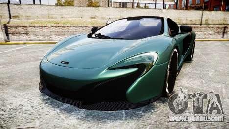 McLaren 650S Spider 2014 [EPM] Yokohama ADVAN v1 for GTA 4