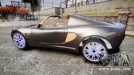 Lotus Exige for GTA 4 left view