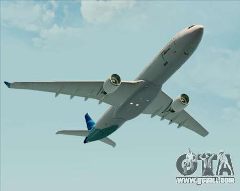 Airbus A330-300 Garuda Indonesia for GTA San Andreas interior