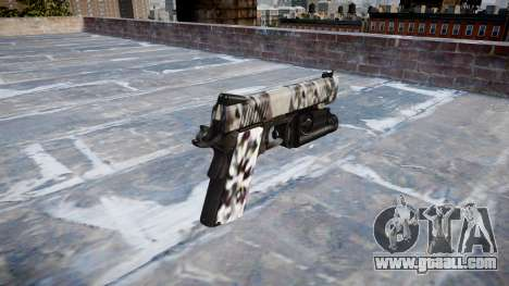 Gun Kimber 1911 Diamond for GTA 4 second screenshot