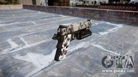 Gun Kimber 1911 Diamond for GTA 4 second screenshot