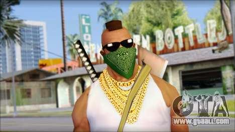 MR T Skin v12 for GTA San Andreas third screenshot