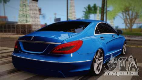 Mercedes-Benz CLS63 AMG for GTA San Andreas left view