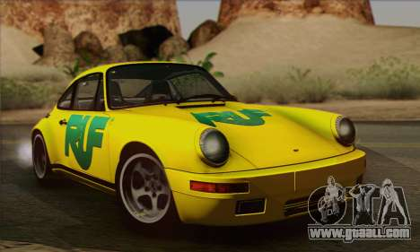 RUF CTR Yellowbird 1987 for GTA San Andreas side view