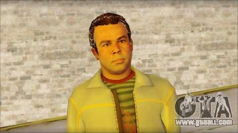 GTA 5 Ped 7 for GTA San Andreas third screenshot