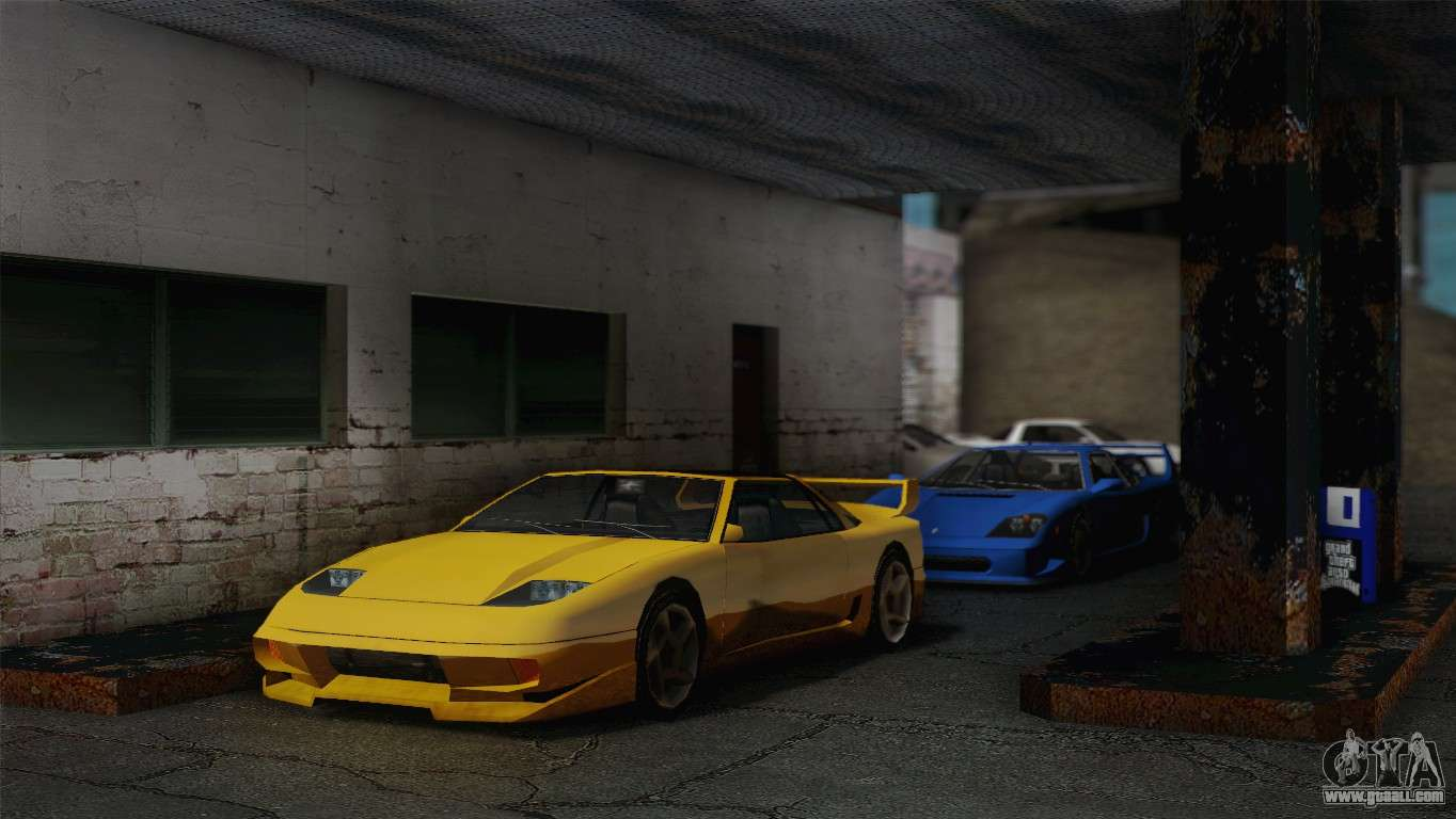 Sport Cars In Doherty For GTA San Andreas