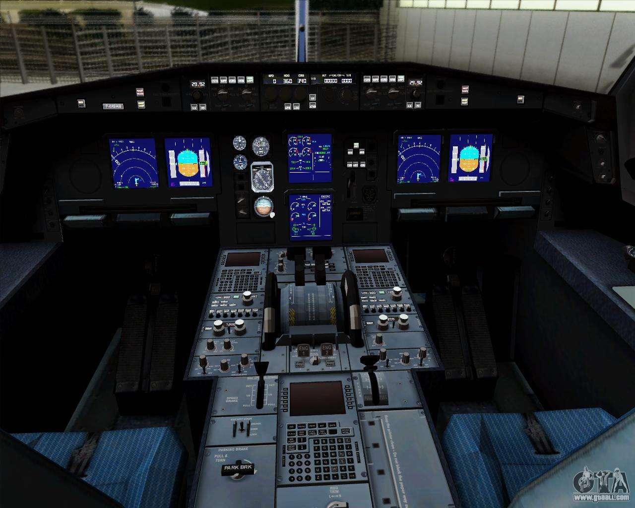 Airbus a330 300p2f federal express for gta san andreas for Gta sa plane interior mod