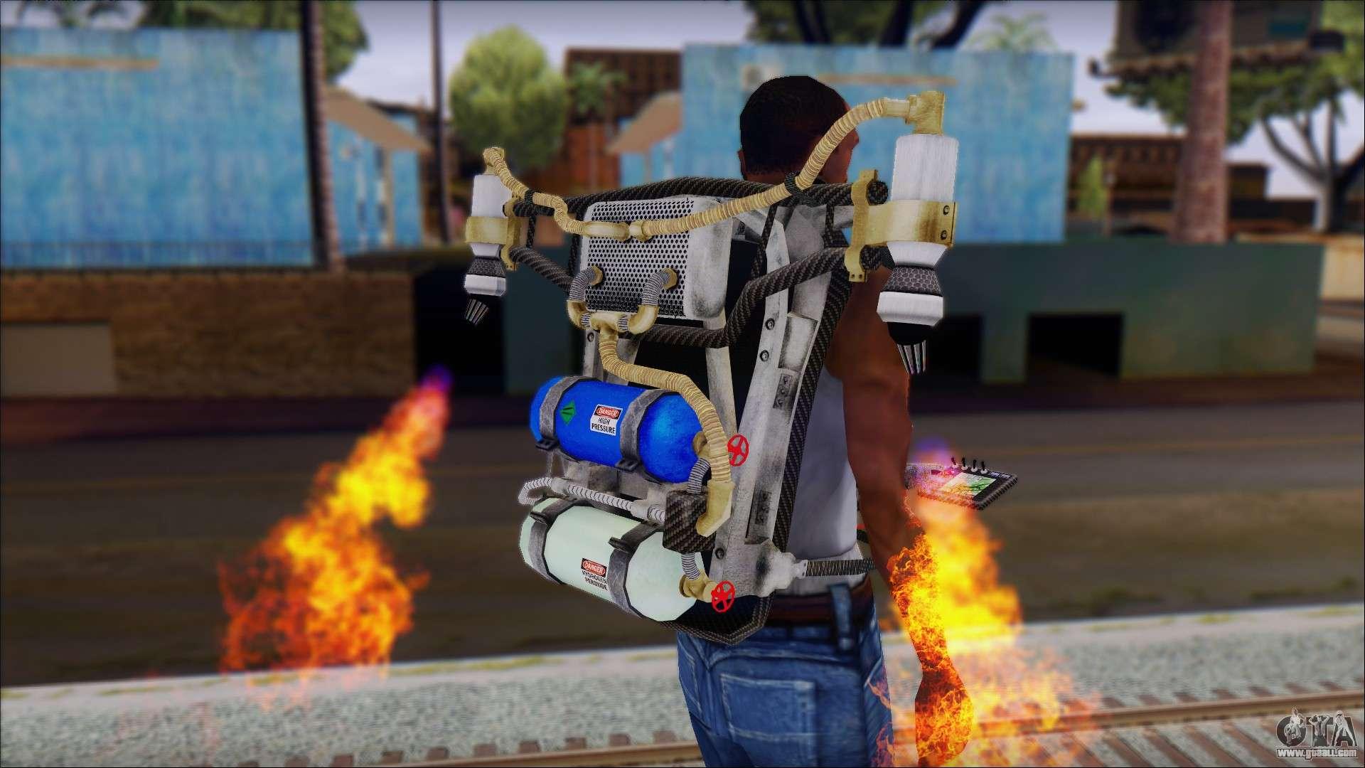 Molotov Cocktail New Jetpack for GTA Sa...