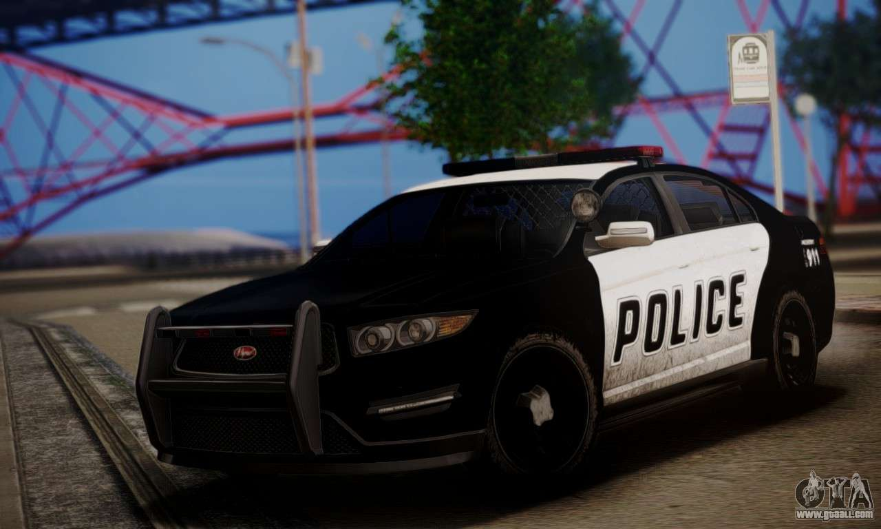 vapid police interceptor from gta v for gta san andreas. Black Bedroom Furniture Sets. Home Design Ideas