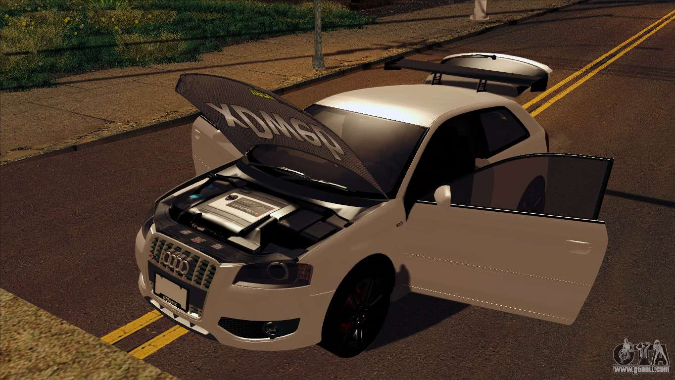 audi s3 tuned 2007 for gta san andreas. Black Bedroom Furniture Sets. Home Design Ideas