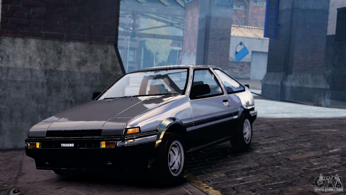 toyota sprinter trueno ae86 zenki for gta 4. Black Bedroom Furniture Sets. Home Design Ideas