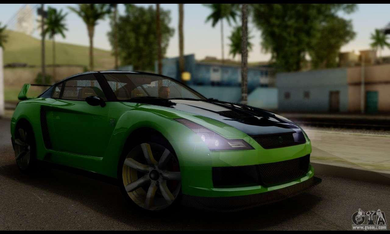 6 Passenger Vehicles >> GTA V Elegy RH8 Twin-Turbo (IVF) for GTA San Andreas