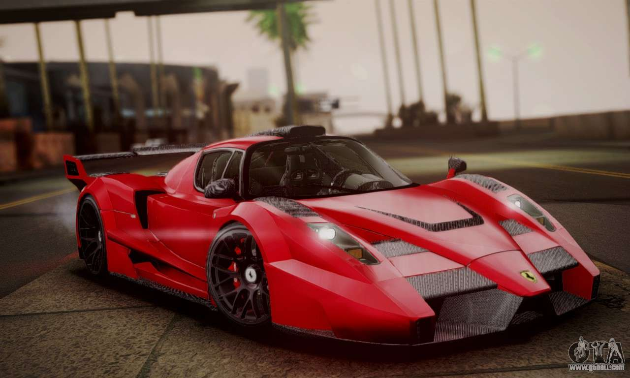 Ferrari Gemballa Mig U1 For Gta San Andreas