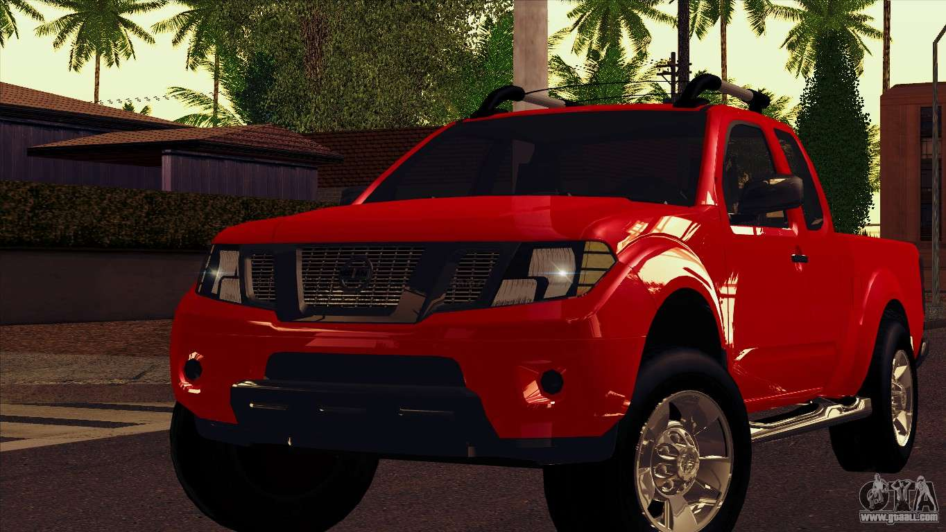 Nissan Frontier 2013 For Gta San Andreas