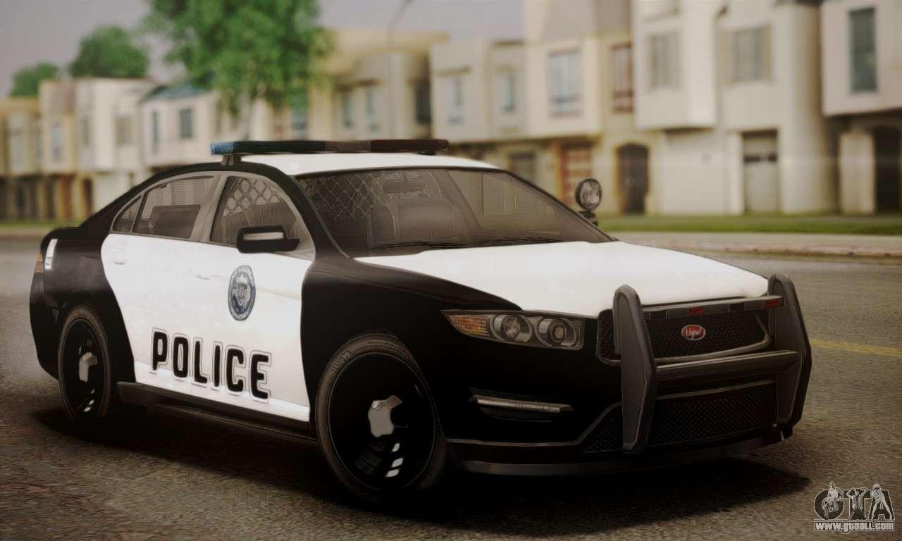 vapid police interceptor from gta v for gta san andreas. Black Bedroom Furniture Sets. Home Design Ideas