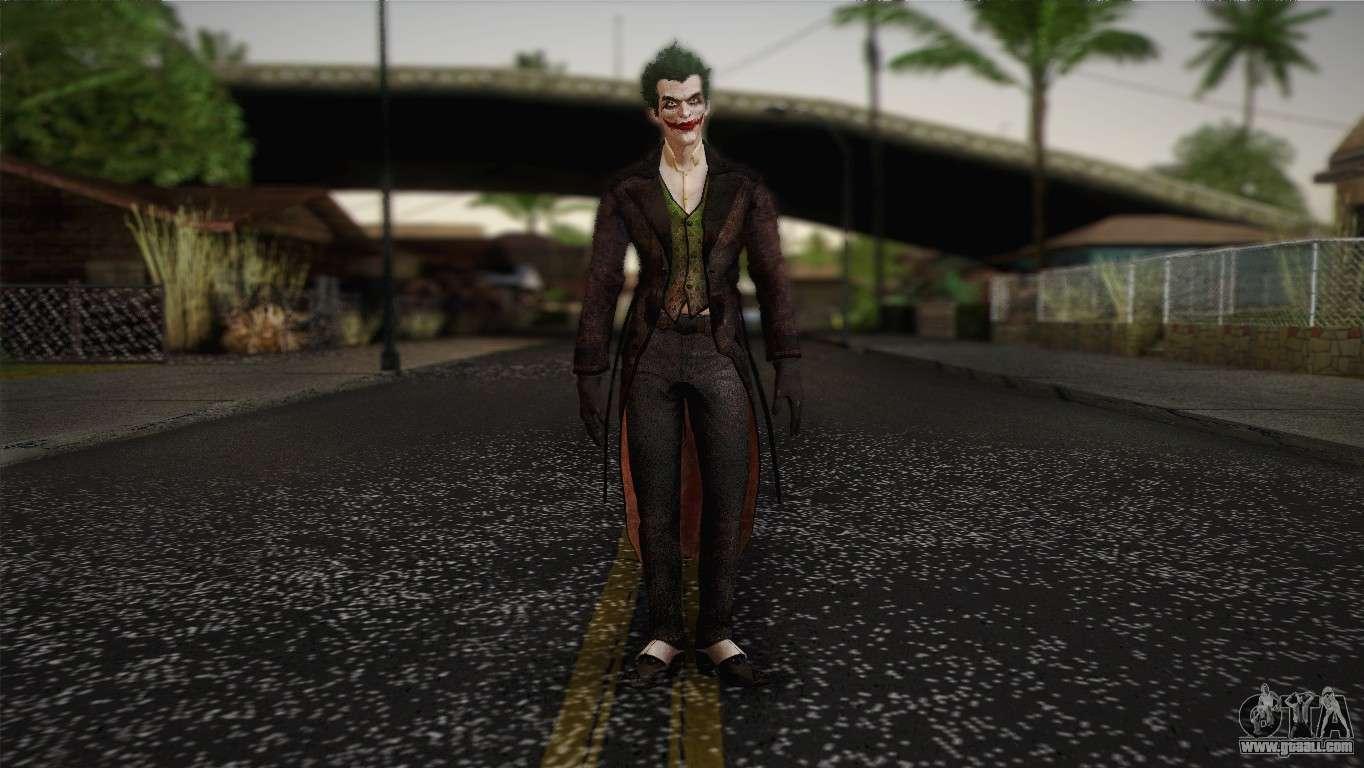 Arkham Joker Skin Joker From Batman Arkham