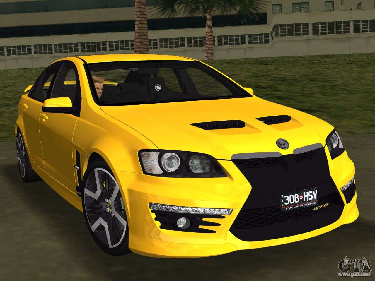 HSV: Holden HSV GTS 2011 For GTA Vice City