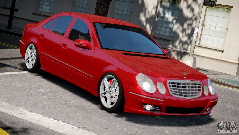 Mercedes benz e320 for gta 4 for Mercedes benz e320
