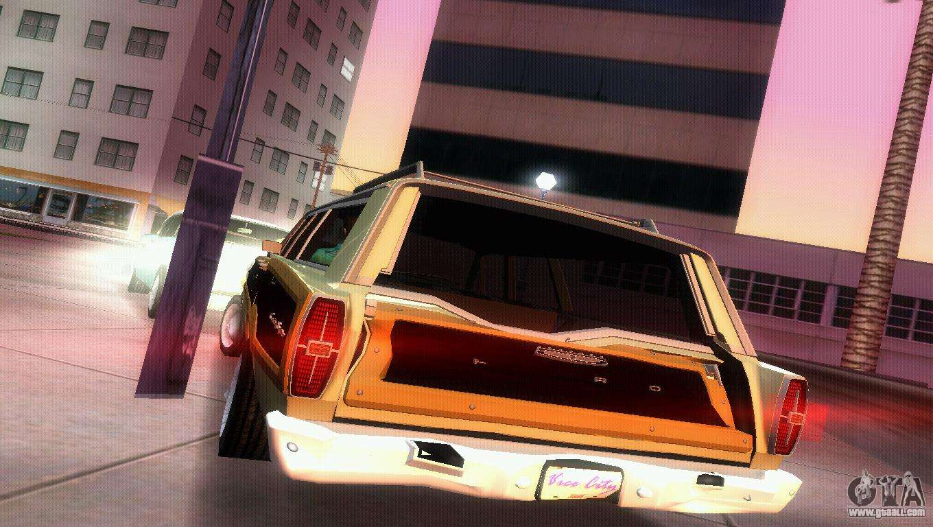 Ford country squire for gta vice city