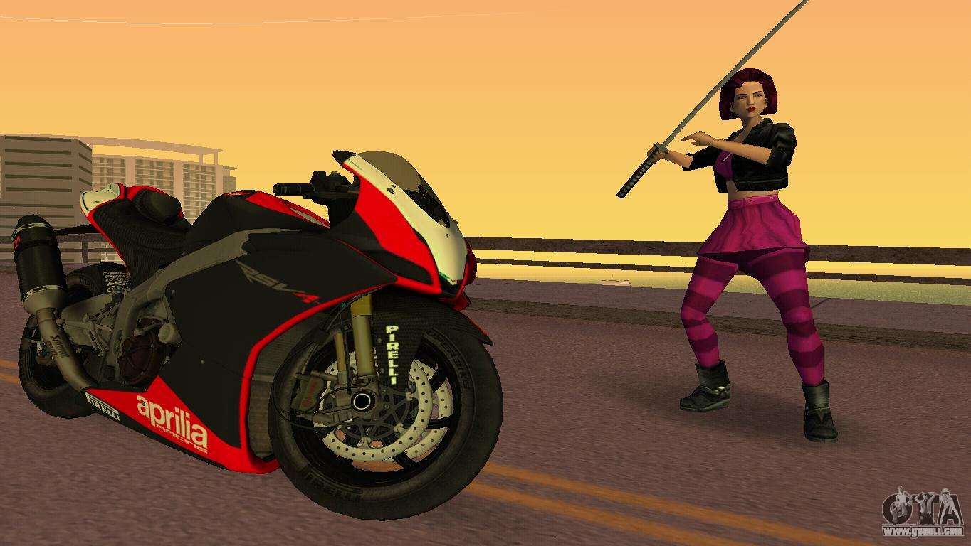 Bikes for GTA Vice City with automatic installation