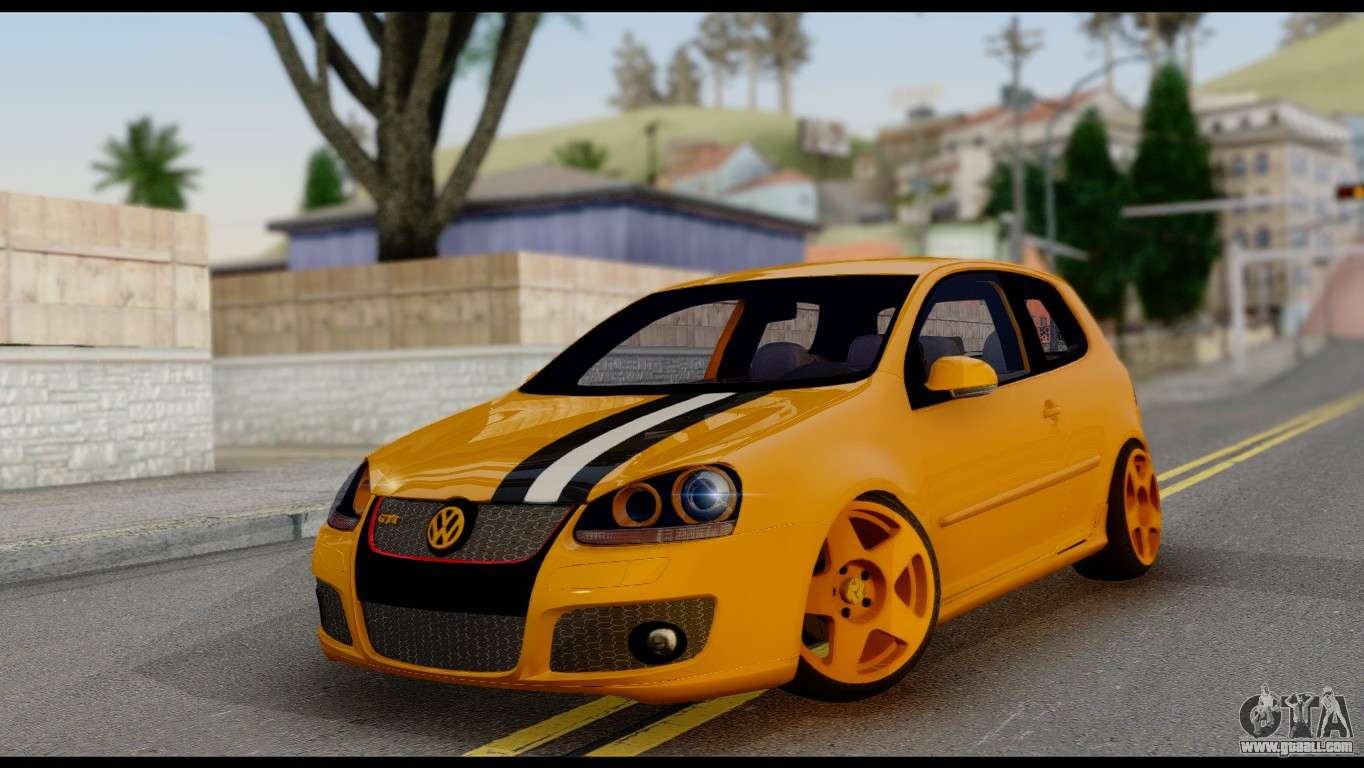 volkswagen golf v gti for gta san andreas. Black Bedroom Furniture Sets. Home Design Ideas