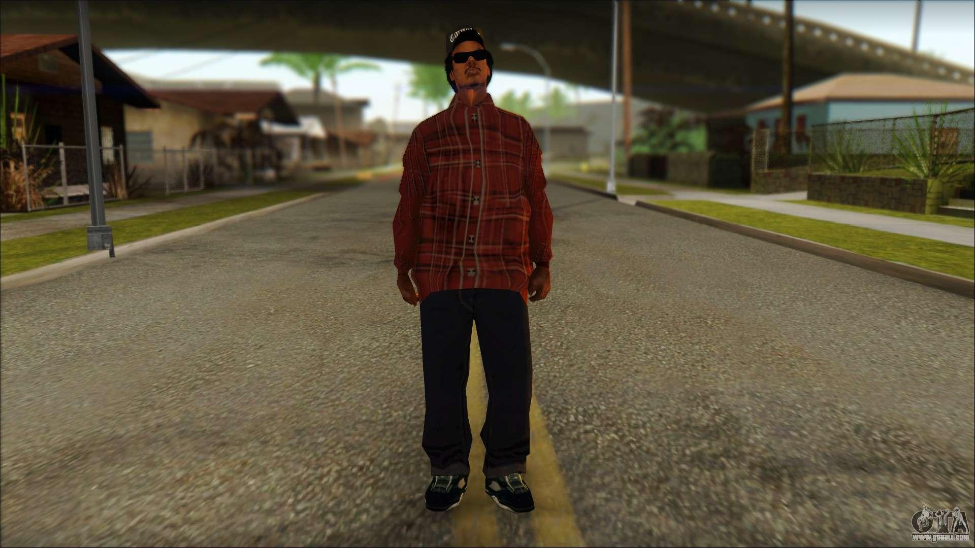 Eazy-E Red Skin v2 for GTA San Andreas