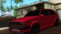 Volkswagen Golf Mk2 Low Life for GTA San Andreas