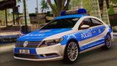 Volkswagen Passat CC Polizei 2013 v1.0 for GTA San Andreas