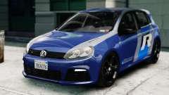 Volkswagen Golf R 2010 ABT Paintjob for GTA 4