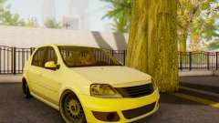 Dacia Logan White for GTA San Andreas