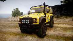 Land Rover Defender for GTA 4
