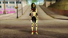 Guardians of the Galaxy Gamora v2 for GTA San Andreas