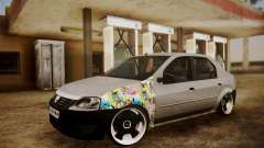Dacia Logan Sedan Tuned for GTA San Andreas