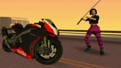 Aprilia RSV4 2009 Edition I for GTA Vice City