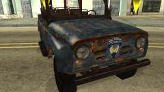 Police UAZ from Stalker for GTA San Andreas