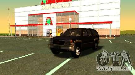 GMC Yukon XL ФСБ for GTA San Andreas