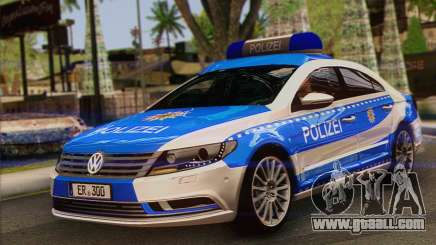 Volkswagen Passat CC Polizei 2013 v1.0 for GTA San Andreas