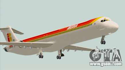 McDonnell Douglas MD-82 Iberia for GTA San Andreas