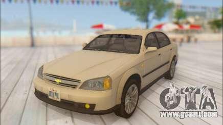 Chevrolet Evanda for GTA San Andreas