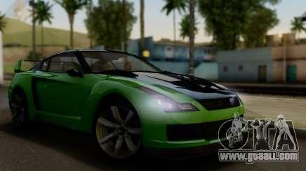GTA V Elegy RH8 Twin-Turbo (IVF) for GTA San Andreas